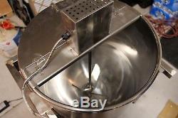 Kettle Corn Popcorn Popper 80 quart (NEW) Stainless Steel Machine