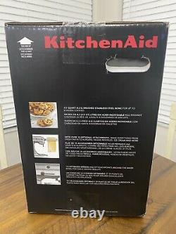 Kitchen Aid Classic Series 4.5 Quart Tilt Head Stand Mixer Onyx Black (new)