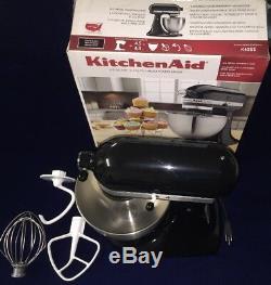 Kitchen Aid K45ssob 4.5-quart Classic Series Standard Mixer Onyx Black Complete