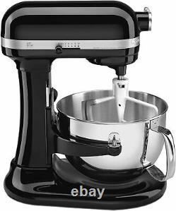 Kitchen Aid PRO KP26M1X 600 Series 6 Quart Bowl Lift Stand Mixer In Onyx Black