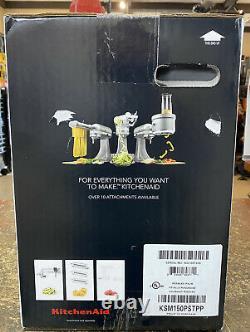 Kitchen Aid Tilt-head Stand Mixer (ksm150pstpp) / 5 Quart / Pebbled Palm / New