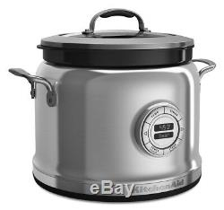 KitchenAid 4-Quart Multi-Cooker with Stir Tower Accessory Stainless Steel