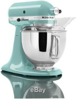 KitchenAid 5-Quart Artisan Tilt-Head Stand Mixer Aqua Sky