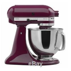 KitchenAid 5-Quart Artisan Tilt-Head Stand Mixer Boysenberry