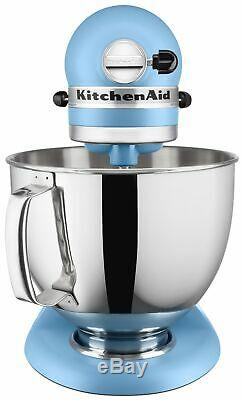 KitchenAid 5-Quart Artisan Tilt-Head Stand Mixer Matte Vintage Blue