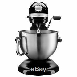 KitchenAid 6-Quart Bowl Lift Stand Mixer Onyx Black