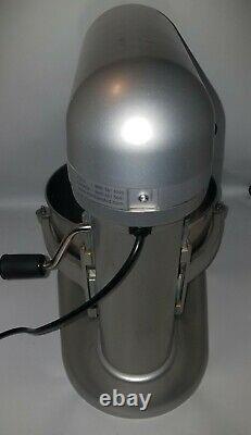 KitchenAid 6-Quart Pro 600 Bowl-Lift Stand Mixer Silver Read