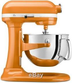 KitchenAid 6-Quart Pro 600 Bowl-Lift Stand Mixer Tangerine