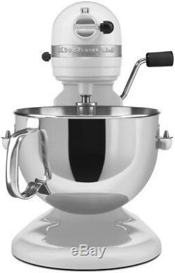KitchenAid 6-Quart Pro 600 Bowl-Lift Stand Mixer White