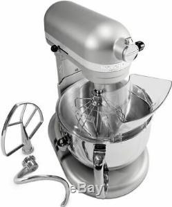 KitchenAid 600 Super Big Capacity 6-Quart Pro Stand Mixer RKp26m1xsl Silver Bowl