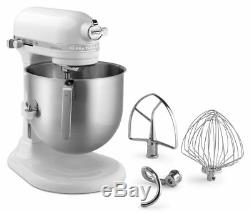 KitchenAid 8 Quart Commercial Stand Mixer (NSF Certified) White
