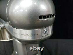 KitchenAid Artisan 3.5-Quart Mixer RKSM33XXCU Contour Silver Refurbished