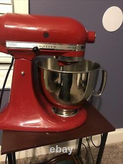 KitchenAid Artisan KSM150PSER Quart Tilt-Head Stand Mixer Empire Red