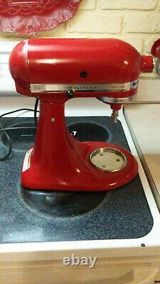 KitchenAid Artisan Series 5 Quart Tilt-Head Stand Mixer Empire Red