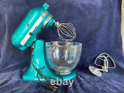 KitchenAid Artisan Series 5 Quart Tilt-Head Stand Mixer Teal