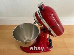 KitchenAid Artisan Tilt Head Stand Mixer 5 Quart 10 Speed Empire Red