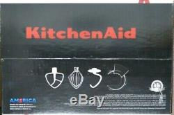 KitchenAid Artisan Tilt-Head Stand Mixer 5 Quart 4.7 Liters Contour Silver New