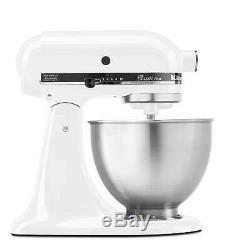 KitchenAid Classic Plus Series 4.5 Quart Tilt-Head Stand Mixer, KSM75