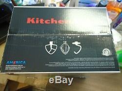 KitchenAid Deluxe 4.5 Quart Tilt-Head Stand Mixer, Pistachio KSM88PT