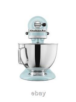 KitchenAid Deluxe 4.5 Quarts Tilt-Head Stand Mixer KSM97MI -NEW. Aqua Sky Color