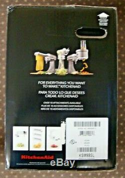 KitchenAid Deluxe Tilt-Head Stand Mixer, 4.5 Quarts, Silver (KSM88SL) NEW SEALED