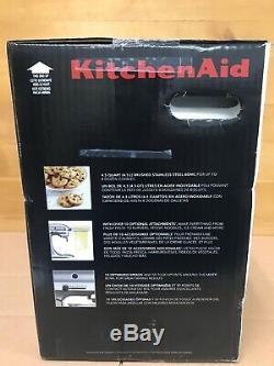 KitchenAid Deluxe Tilt-Head Stand Mixer, 4.5 Quarts, Silver (KSM88SL) SEALED