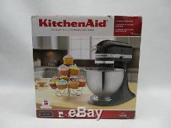 KitchenAid K45SS Onyx Black Classic Series 4.5 Quart Tilt Head Stand Mixer