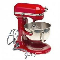 KitchenAid KG25HOXER Professional 5 Plus 5-Quart Stand Mixer, Empire Red