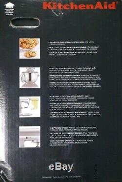 KitchenAid KP26M1XPM Professional 600 Series 6 Quart Stand Mixer Pearl Metallic