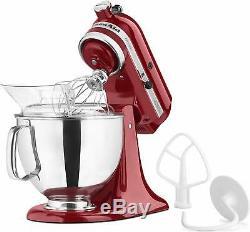 KitchenAid KSM150PSER Artisan 5-Quart Stand Mixer Empire Red
