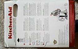 KitchenAid KSM150PSSM Artisan Series 5-Quart Stand Mixer Metallic Silver