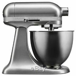 KitchenAid KSM3311XCU Artisan Mini Series Tilt-Head Stand Mixer, 3.5 quart, C