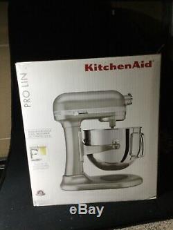KitchenAid KSM7586P 7-Quart Bowl-Lift Stand Mixer Sugar Pearl Silver