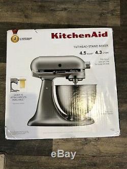 KitchenAid KSM75SL Mixer Silver 4.5 Quart