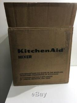 KitchenAid KSM88RBQWH Classic Plus Series 4.5-Quart Tilt-Head Stand Mixer
