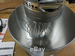 KitchenAid KSM95CU Ultra Power Series Contour Silver 4.5 Quart Tilt Head Stand M