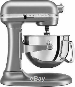 KitchenAid KV25G0XSL Professional 5 Plus 5-Quart Stand Mixer Silver