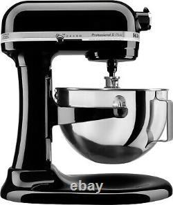 KitchenAid Pro 5 Plus 5 Quart Bowl-Lift Stand Mixer Onyx Black