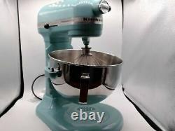 KitchenAid Pro 5 Plus KP25M0XAQ Series 5-Quart Stand Mixer Aqua Sky