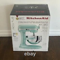 KitchenAid Pro 5 Plus KV25G0X Ice Blue 5-Quart Bowl-Lift Stand Mixer