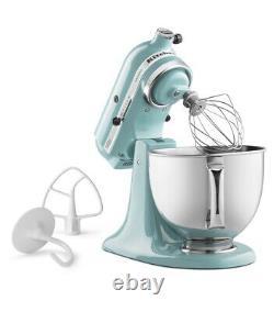 KitchenAid Pro Powerful Artisan Series 5-Quart Tilt-Head Stand Mixer Aqua Sky