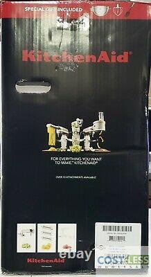 KitchenAid Professional 5 Plus Quart Bowl-Lift Stand Mixer Metallic Chrome