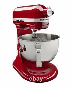 KitchenAid Professional 5 Plus Series 5 Quart Bowl-Lift Stand Mixer KV25G0X Red