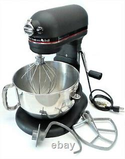 KitchenAid Professional 6 10 Speed 6 Quart Bowl Lift Stand Mixer Color Satin BK