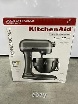 KitchenAid Professional 6 quart 590W Bowl-Lift Stand Mixer Silver GIFT
