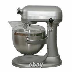 KitchenAid Professional 600 Series 10 speed 6 Quart Bowl Lift Stand Mixer, Silver