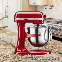 KitchenAid Professional 6000 HD Stand Mixer 6 Quart Empire Red KSM6573CER NEW