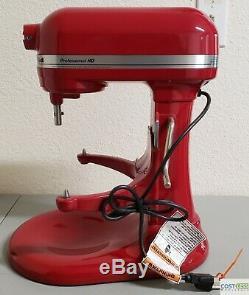 KitchenAid Professional HD Bowl-Lift Stand Mixer 5 Quart Red KG25H0XER