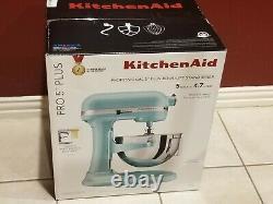 KitchenAid Professional Pro 5 Plus 5 Quart Stand Mixer ICE BLUE KV25G0XIC