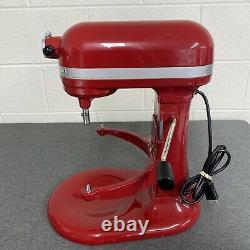 KitchenAid R-KP26M1Xer Pro 600 Stand Mixer 6-Quart Red Color